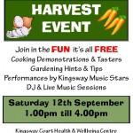 Harvest event 2015